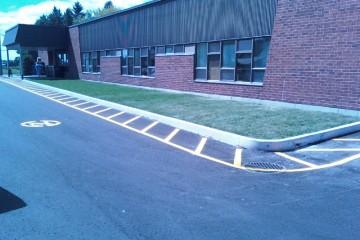 marquage stationnement école